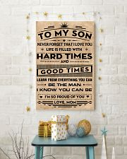 To My Son 11x17 Poster lifestyle-holiday-poster-3