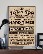 To My Son 11x17 Poster lifestyle-poster-2