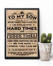To My Son 11x17 Poster lifestyle-poster-8