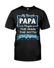 My Favorite People PAPA Classic T-Shirt tile