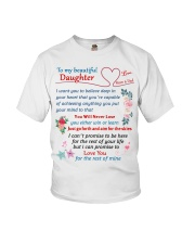 To My Beautiful Daughter Youth T-Shirt tile