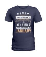 OLD WOMAN - JANUARY Ladies T-Shirt thumbnail