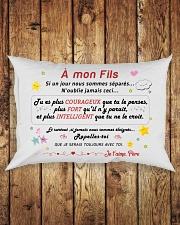 A mon Fils Rectangular Pillowcase aos-pillow-rectangle-front-lifestyle-2