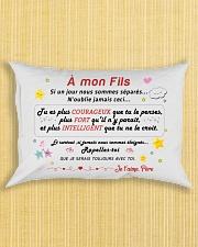 A mon Fils Rectangular Pillowcase aos-pillow-rectangle-front-lifestyle-6