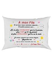 A mon Fils Rectangular Pillowcase back