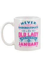 OLD LADY JANUARY Mug back