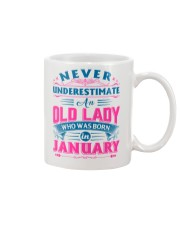 OLD LADY JANUARY Mug front