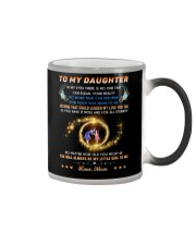 To My Daughter - Love Mom Color Changing Mug thumbnail
