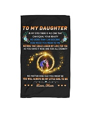 To My Daughter - Love Mom Hand Towel thumbnail