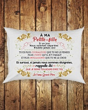 A ma Petite-fille - Pere Rectangular Pillowcase aos-pillow-rectangle-front-lifestyle-2