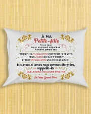 A ma Petite-fille - Pere Rectangular Pillowcase aos-pillow-rectangle-front-lifestyle-6