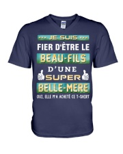 BEAU-FILS - BELLE-MERE V-Neck T-Shirt thumbnail