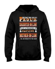 To My Daughter-In-Law Hooded Sweatshirt thumbnail