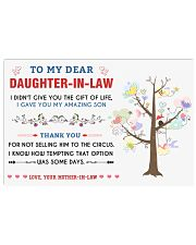 To My Daughter-In-Law 17x11 Poster thumbnail