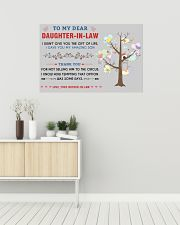To My Daughter-In-Law 36x24 Poster poster-landscape-36x24-lifestyle-01