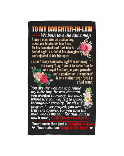To My Daughter-In-Law