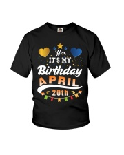 April 20th Birthday Gift T-Shirts Youth T-Shirt thumbnail