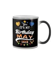 May 14th Birthday Gift T-Shirts Color Changing Mug thumbnail