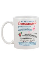 Granddaughter Mug back
