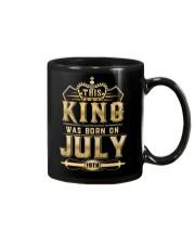 THE KING WAS BORN ON JULY 19TH Mug tile