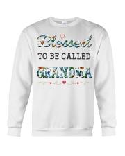 Blessed to be called Grandma Crewneck Sweatshirt thumbnail
