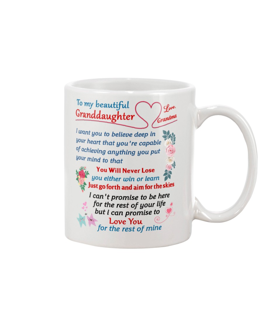 To My Granddaughter Mug