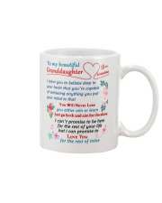 To My Granddaughter Mug front