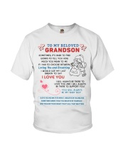To My Beloved Grandson Youth T-Shirt thumbnail