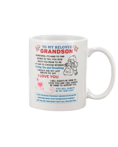 To My Beloved Grandson