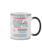To My Beloved Grandson Color Changing Mug thumbnail