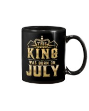 THE KING WAS BORN ON JULY Mug thumbnail