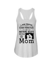 PROUD BEING A MOM Ladies Flowy Tank thumbnail