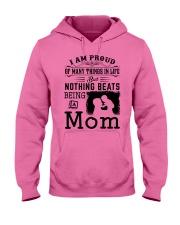 PROUD BEING A MOM Hooded Sweatshirt tile