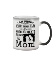 PROUD BEING A MOM Color Changing Mug tile