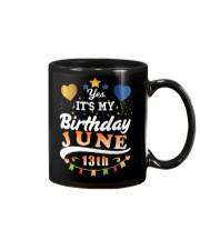 June 13th Birthday Gift T-Shirts Mug thumbnail
