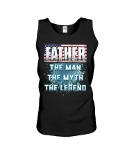 Father Legend Fathers Day Independence Day Unisex Tank thumbnail