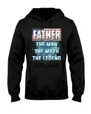 Father Legend Fathers Day Independence Day Hooded Sweatshirt thumbnail