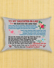 To My Daughter-In-Law Rectangular Pillowcase aos-pillow-rectangle-front-lifestyle-6