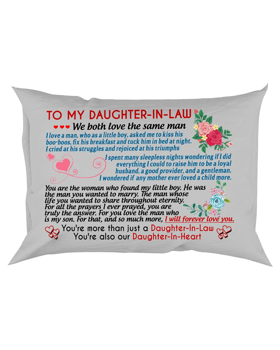 To My Daughter-In-Law Rectangular Pillowcase
