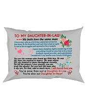 To My Daughter-In-Law Rectangular Pillowcase front