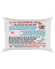 To My Daughter-In-Law Rectangular Pillowcase tile