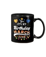 March 22nd Birthday Gift T-Shirts Mug tile
