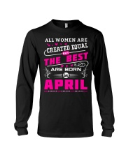 THE BEST APRIL Long Sleeve Tee thumbnail