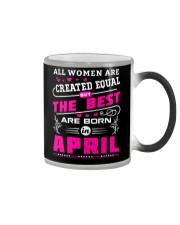 THE BEST APRIL Color Changing Mug thumbnail