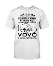 VOVO E MEU FAVORITO Classic T-Shirt front