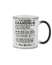 To My Grandson Color Changing Mug thumbnail