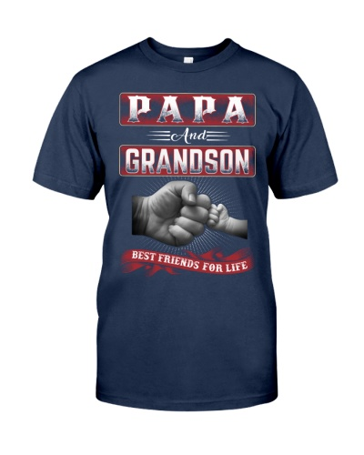 PAPA and GRANDSON best friends