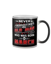 OLD MAN - March Color Changing Mug thumbnail
