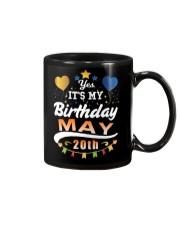 May 20th Birthday Gift T-Shirts Mug tile