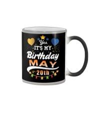 May 20th Birthday Gift T-Shirts Color Changing Mug tile